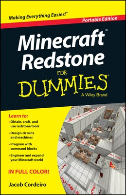 Book Minecraft Redstone For Dummies by Jacob Cordeiro