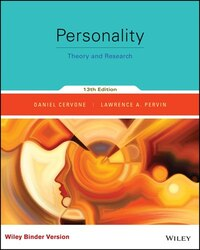 Personality, Binder Ready Version: Theory and Research