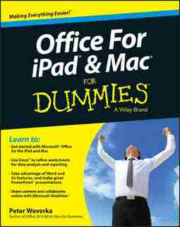 Office for iPad and Mac For Dummies by Peter Weverka