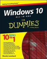Book Windows 10 All-in-One For Dummies by Woody Leonhard
