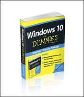 Book Windows 10 For Dummies Book + Online Videos Bundle by Andy Rathbone