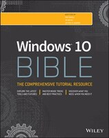 Book Windows 10 Bible by ROB TIDROW