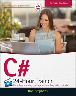 Book C# 24-Hour Trainer by Rod Stephens