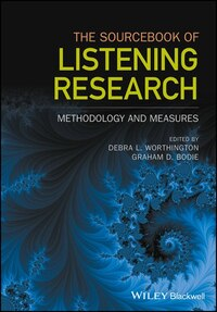 Sourcebook of Listening Methodology & Measurement