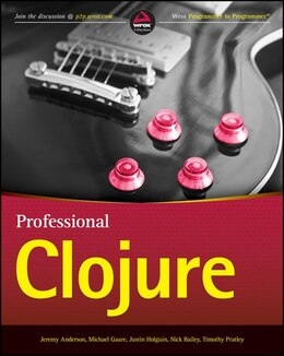 Book Professional Clojure by Jeremy Anderson