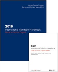 2016 International Valuation Handbook - Guide to Cost of Capital + Semiannual PDF Update (Set)