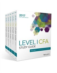 Wiley Study Guide for 2017 Level I CFA Exam: Complete Set