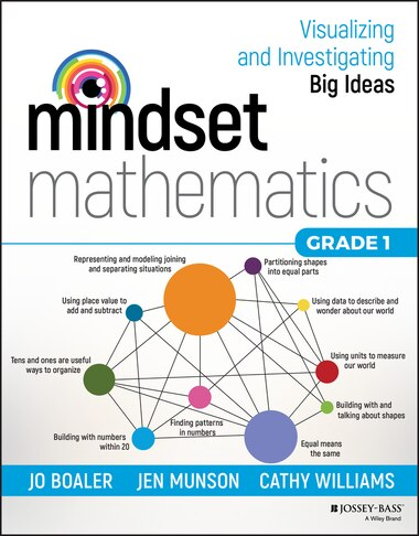Mindset Mathematics: Visualizing and Investigating Big Ideas, Grade 1 by Jo Boaler