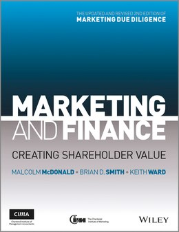 Book Marketing and Finance: Creating Shareholder Value by Malcolm Mcdonald