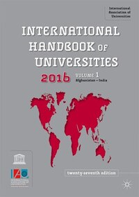 International Handbook Of Universities 2016