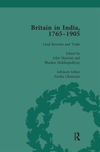 Britain In India, 1765-1905, Volume Ii