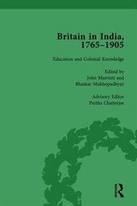 Britain In India, 1765-1905, Volume Iii