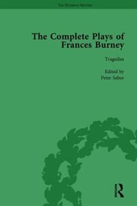 The Complete Plays Of Frances Burney Vol 2