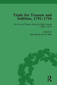 Trials For Treason And Sedition, 1792-1794, Part I Vol 3