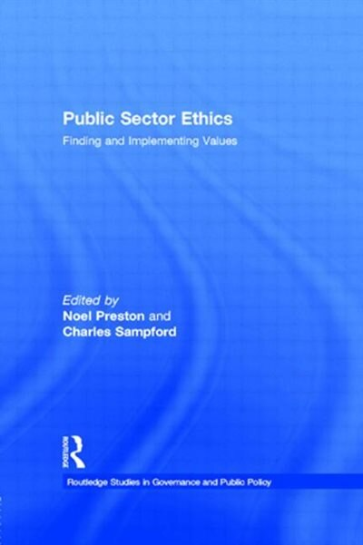 public sector ethics concerns the moral requirements For a citizenry to retain its trust in government, it must have confidence that those in public service are at all times acting in the best interest of the public as stewards of the public trust, government leaders and employees have a fiduciary responsibility to act in a manner that is fair and.