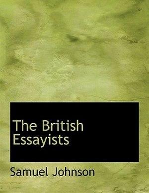 The British Essayists by Samuel Johnson