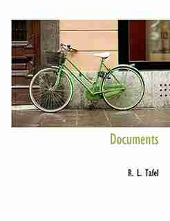 Documents by R. L. Tafel