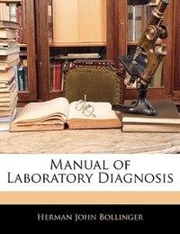 Manual Of Laboratory Diagnosis