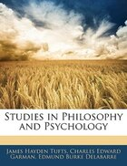 Studies In Philosophy And Psychology