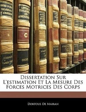 Corps dissertation