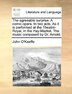 The agreeable surprise. A comic opera. In two acts. As it is performed at the Theatre-Royal, in the Hay-Market. The music composed by Dr. Arnold. by John O'Keeffe
