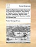 Unto The Right Honourable The Lords Of Council And Session, The Petition Of Captain Robert-george Bruce Of Bunzian, Defender; Against John Jobson, Mer by Robert-george Bruce