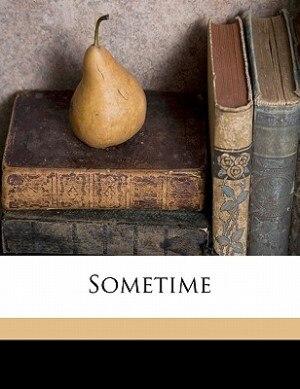 Sometime by Robert Herrick