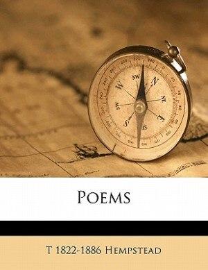 Poems by T 1822-1886 Hempstead