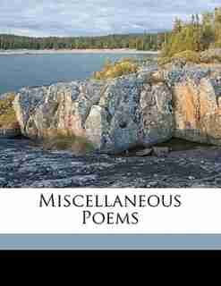 Miscellaneous Poems by Henry Francis 1793-1847 Lyte
