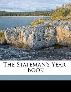 The Stateman's Year-book de J Scott Keltie