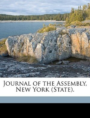 Journal Of The Assembly, New York (state). by Anonymous