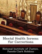 Mental Health Screens For Corrections