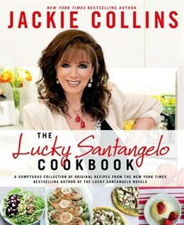 Book The Lucky Santangelo Cookbook by Jackie Collins