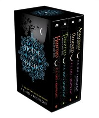House of Night TP boxed set (books 5-8): Hunted, Tempted, Burned, Awakened