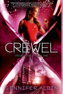 Book Crewel by Gennifer Albin