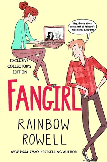 fangirl indigo exclusive collector s edition book by rainbow