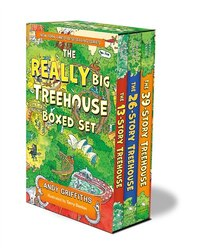 The Really Big Treehouse Boxed Set: (the 13-story Treehouse; The 26-story Treehouse; The 39-story…