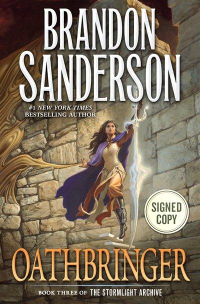 Book Oathbringer: Signed Edition by Brandon Sanderson