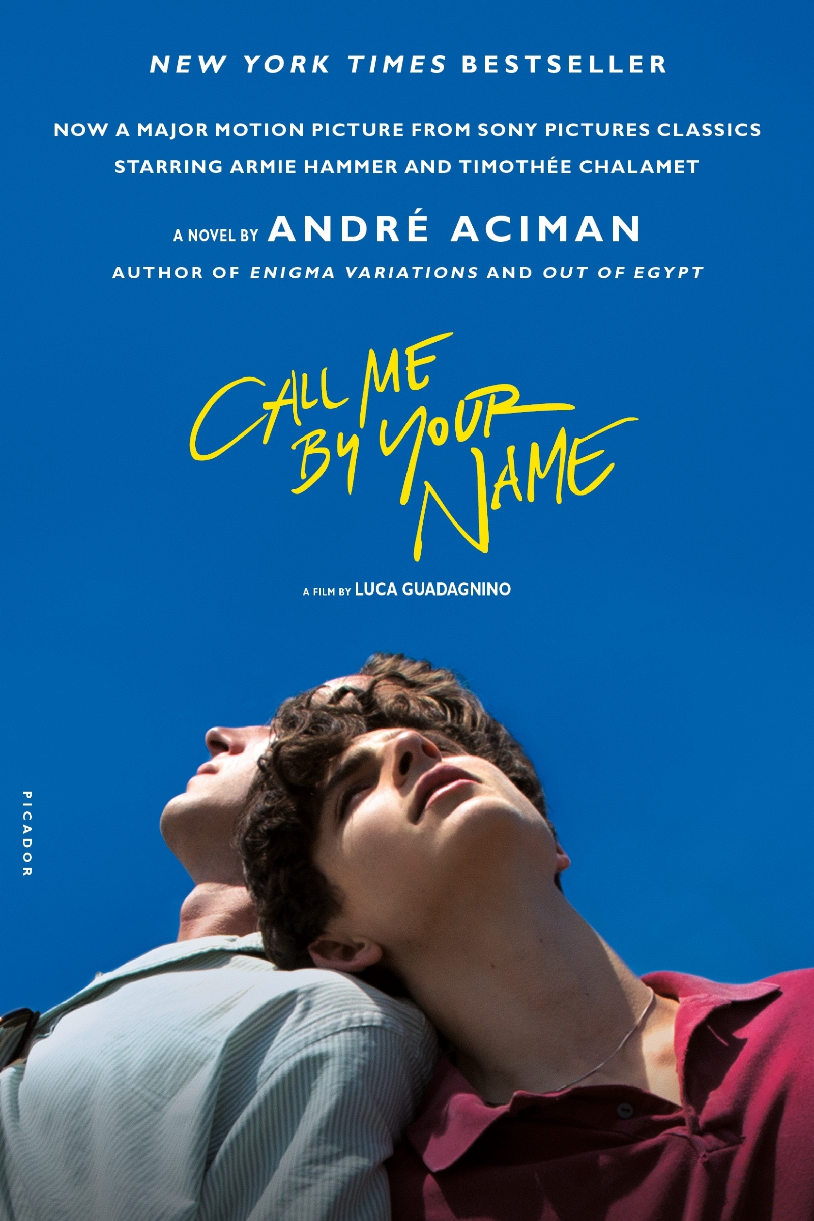 Book Call Me By Your Name: A Novel by André Aciman