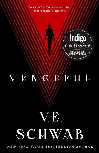 Book Vengeful: Indigo Signed Exclusive Edition by V.E. Schwab