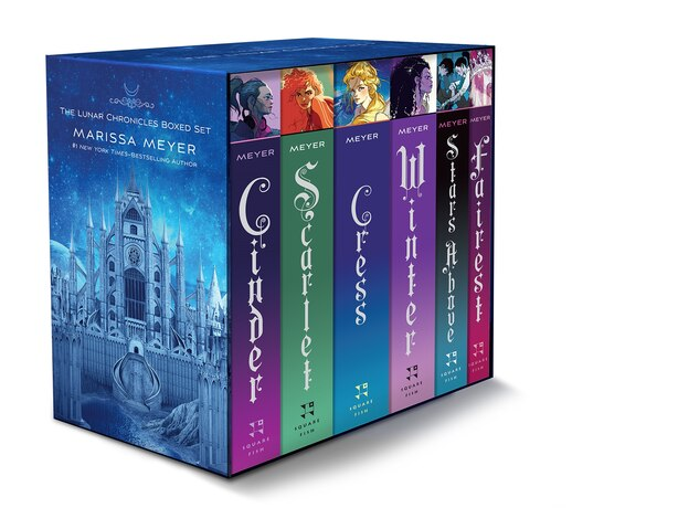 The Lunar Chronicles Boxed Set: Cinder, Scarlet, Cress, Fairest, Stars Above, Winter by Marissa Meyer