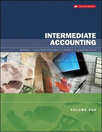 Intermediate Accounting Volume 1 with Connect with SmartBook COMBO
