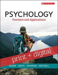 Psychology: Frontiers and Applications with Connect with SmartBook COMBO