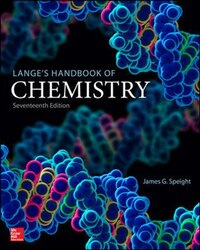 Lange's Handbook of Chemistry, Seventeenth Edition