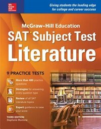 McGraw-Hill Education SAT Subject Test Literature 3rd Ed.