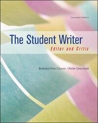 Student Writer + Cnct Comp Cda 4e