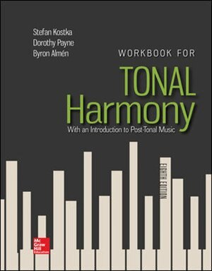Workbook for Tonal Harmony, Book by Stefan Kostka ...