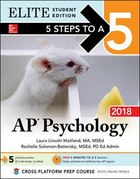 5 Steps to a 5 AP Psychology 2018 Elite Student edition