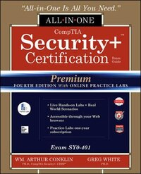 CompTIA Security+ Certification All-in-One Exam Guide, Premium Fourth Edition with Online Practice…