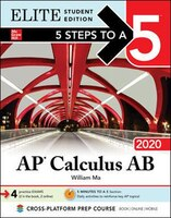 5 Steps to a 5: AP Calculus AB 2020 Elite Student Edition